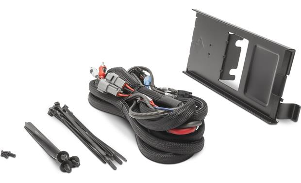Rockford Fosgate RFRNGR-K8 dual amp kit and mounting plate