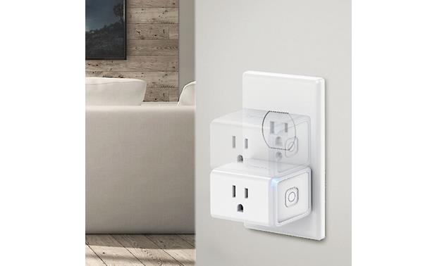 TP-Link HS105 Smart Plug Compact design lets you connect two smart plugs to each standard outlet