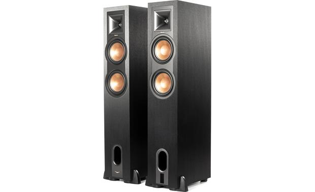 Klipsch Reference R-26PF Shown with magnetic grilles removed