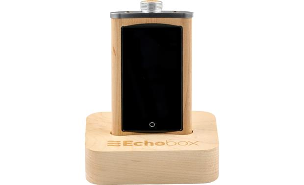Echobox Audio Explorer Maple - with matching dock (available separately)