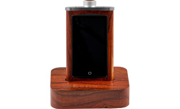 Echobox Audio Explorer Mahogany - with matching dock (available separately)