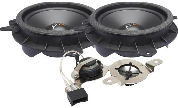 PowerBass OE65C-TY PowerBass designed these speakers to be an easy fit for select Toyota vehicles