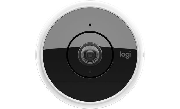 Logitech® Circle 2 Wireless Night vision lets you see up to 15 feet away in the dark