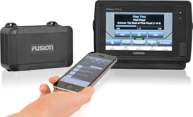 Fusion MS-BB100V2 Marine Black Box Receiver Fusion-Link Bluetooth app