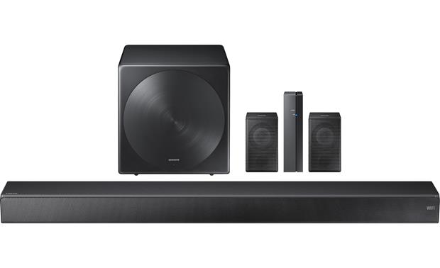 Samsung Sound+ SWA-W700 Full wireless 5.1 home theater system with Sound+ sound bar and wireless surround speakers (sold separately)