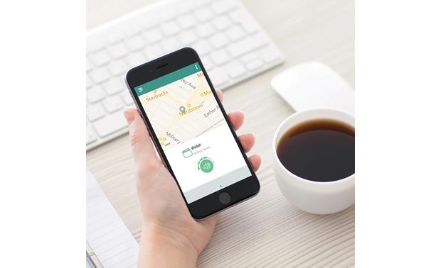TrackR bravo 8-pack The free TrackR app helps you locate your lost items on a map.