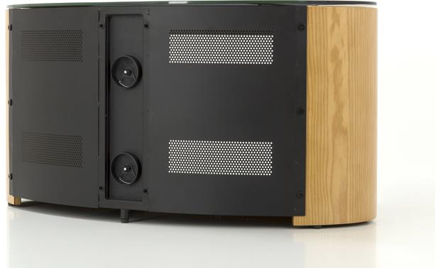 AVF Affinity Plus Buckingham Oak - Rear panel mesh ventilation