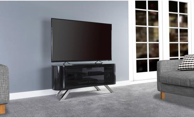 AVF Affinity Bay 1150 Black (TV not included)