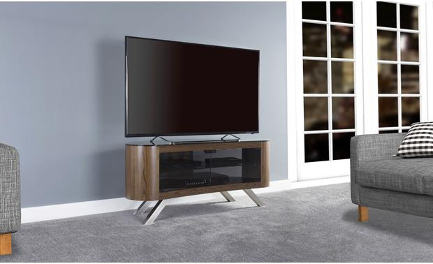 AVF Affinity Bay 1150 Walnut (TV not included)