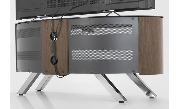 AVF Affinity Bay 1150 Walnut - simple cable management