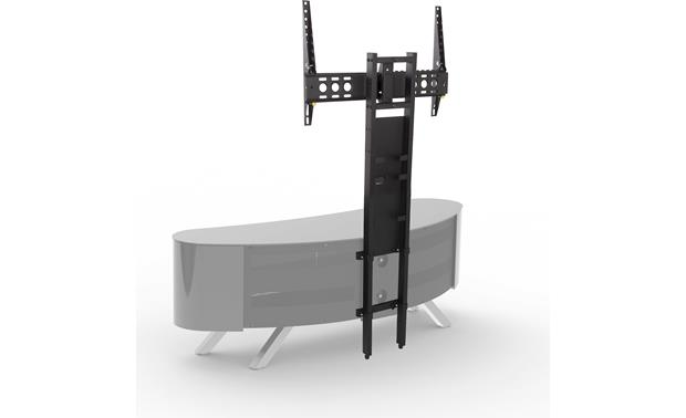 AVF Affinity Bay 1500 Black - Compatible with the AV TV mounting column (available separately)