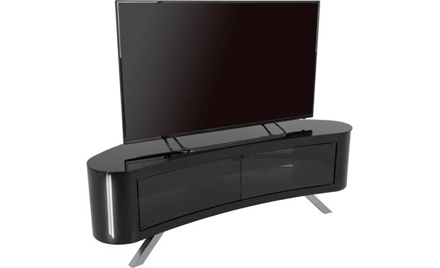 AVF Affinity Bay 1500 Black - Left front (TV not included)