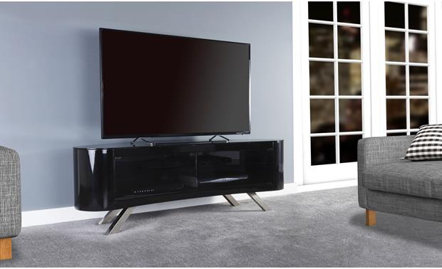 AVF Affinity Bay 1500 Black (TV not included)
