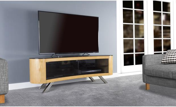 AVF Affinity Bay 1500 Oak (TV not included)
