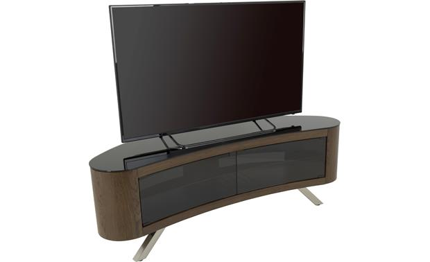 AVF Affinity Bay 1500 Walnut - left front (TV not included)