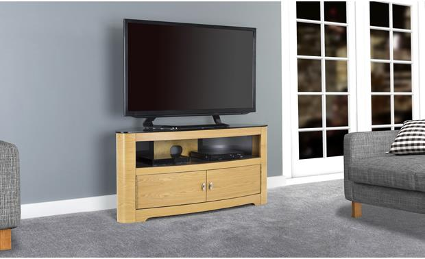 AVF Affinity Plus Blenheim 1100 Oak (TV and components not included)
