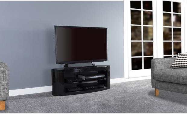 AVF Affinity Plus Buckingham 1100 Black (TV and components not included)