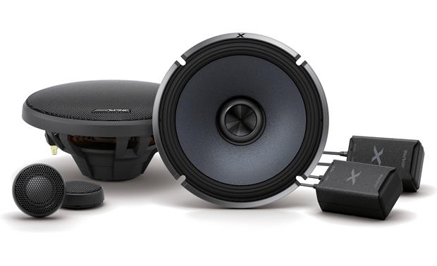 Alpine X-S65C Experience premium audio with Alpine's X-Series.