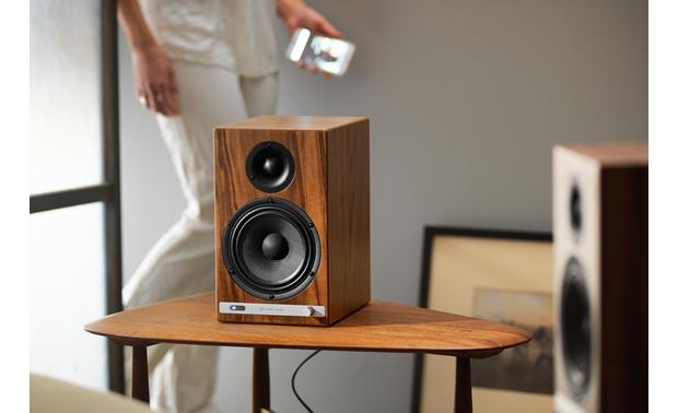 Audioengine HD6/Pro-Ject Debut Carbon/Phono Box Bundle Powerful bookshelf (or wherever you want to place them) speakers