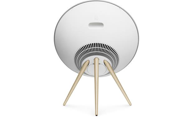 Bang & Olufsen Beoplay A9 White with Maple Legs - back