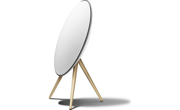 Bang & Olufsen Beoplay A9 White with Maple Legs - left front