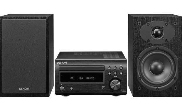 Denon D M41 Cd Fm Micro Desktop Stereo System With Bluetooth At Crutchfield
