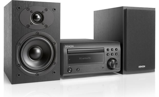 Denon D-M41 Shown with one speaker grille removed