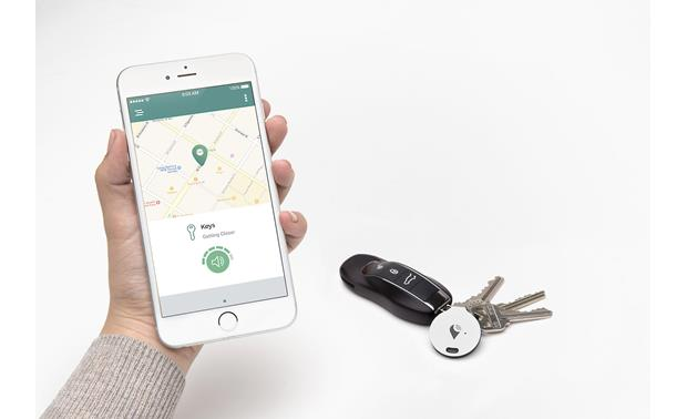 TrackR bravo 2-pack The free TrackR app helps you find lost items.