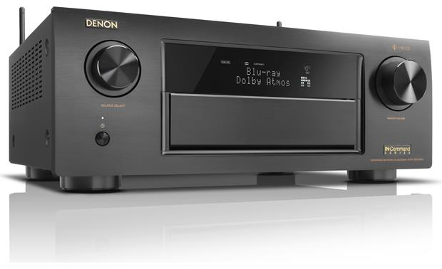 Denon AVR-X6400H IN-Command Angled front view