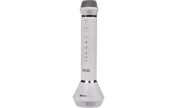 808 Audio Singsation All-in-one karaoke microphone and Bluetooth