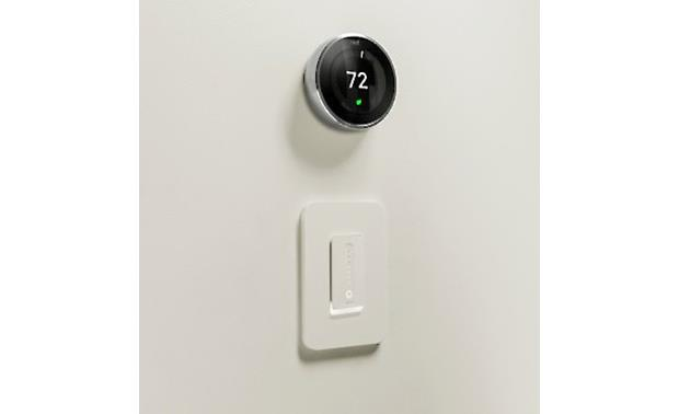 Belkin Wemo Wi-Fi® Smart Dimmer Works with Nest Learning Thermostat to synchronize your