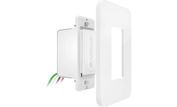 Belkin Wemo® Wi-Fi® Smart Dimmer Comes with a wall-mounting plate