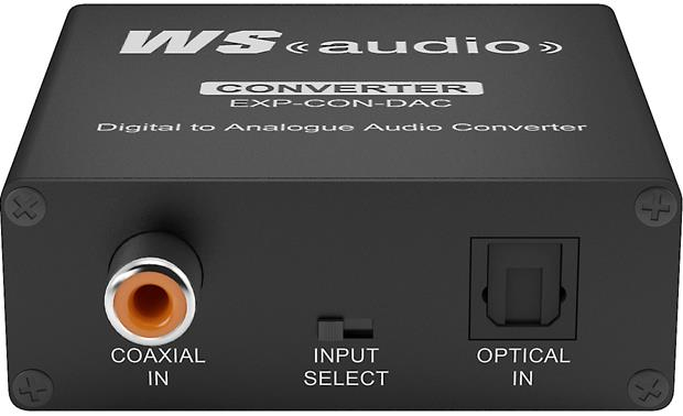 WyreStorm Express™ EXP-CON-DAC Digital-to-Analog Converter Digital audio inputs