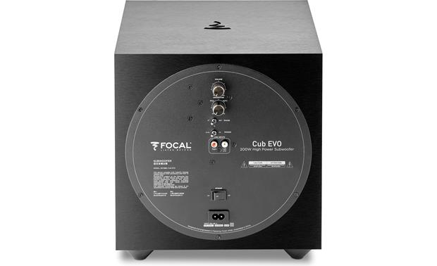 Focal Sib Evo Dolby Atmos® 5.1.2 Back of subwoofer
