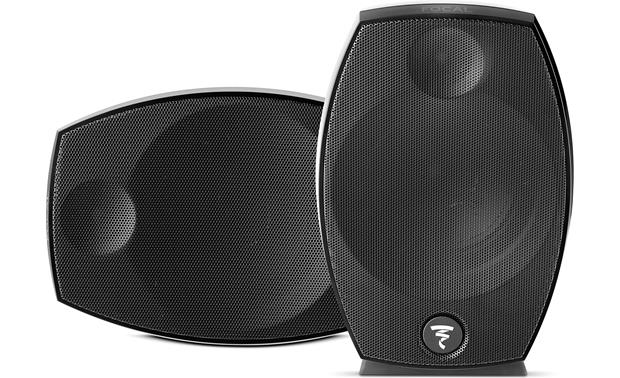 Focal Sib Evo Each speaker can be positioned horizontally or vertically