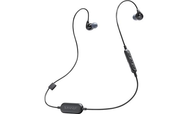 Shure SE112-BT1 Plays music wirelessly via Bluetooth and offers pro-level noise isolation
