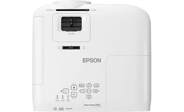 Epson Home Cinema 2150 Top view