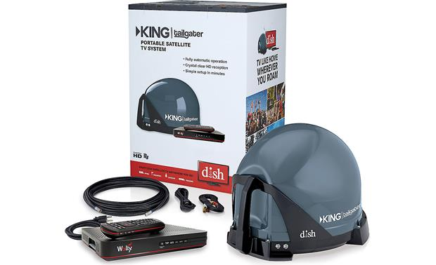 King Tailgater Controls VQ4550 With a DISH subscription, enjoy HDTV wherever you are.