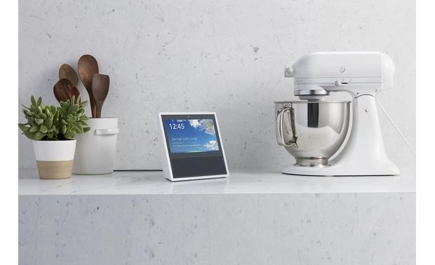 Amazon Echo Show Busy cooking? Ask Alexa to show you a video of the recipe.