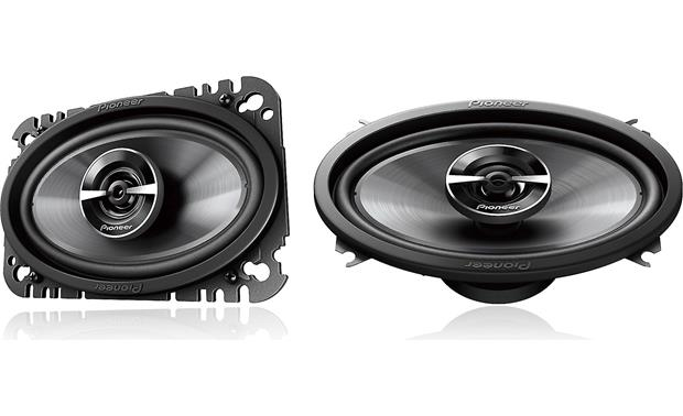Pioneer TS-G460 Bring new life to your factory sound with Pioneer's G-Series speakers.