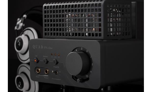 QUAD PA-One Valve Series Delivers smooth, dynamic sound to high-performance headphones (not included)