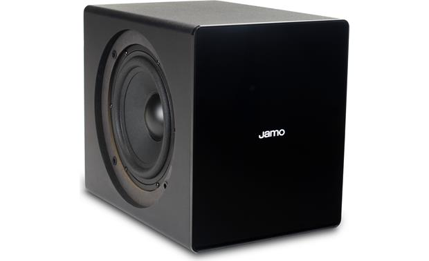 Jamo DS7 Subwoofer - side-firing speaker with grille removed
