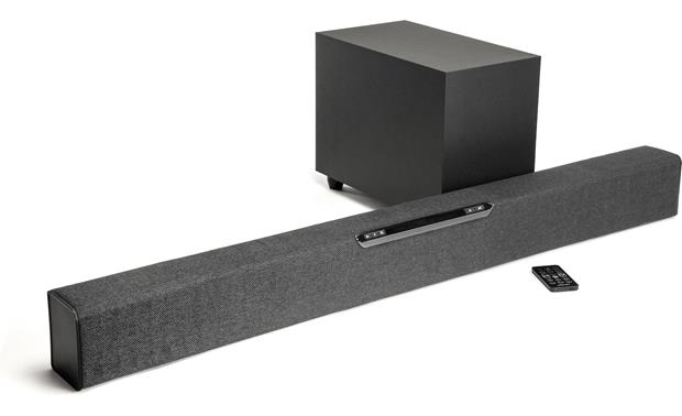 Jamo SB 40 2.1-channel home theater system with immediate, powerful sound