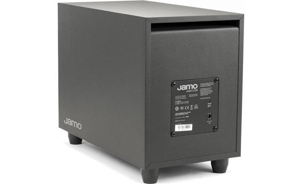 Jamo SB 40 Back of subwoofer