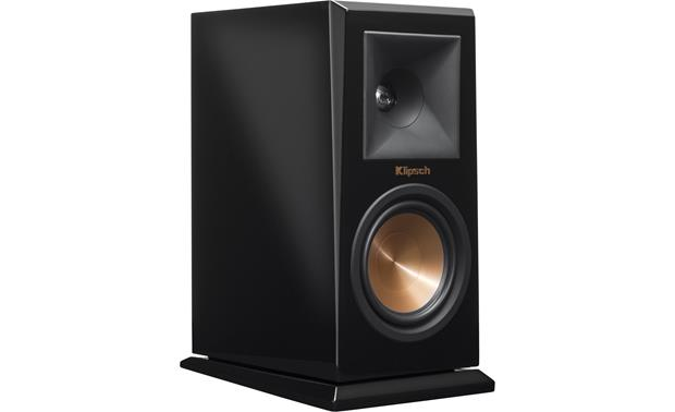 Klipsch Reference Premiere RP-150M Angled front view with grille removed