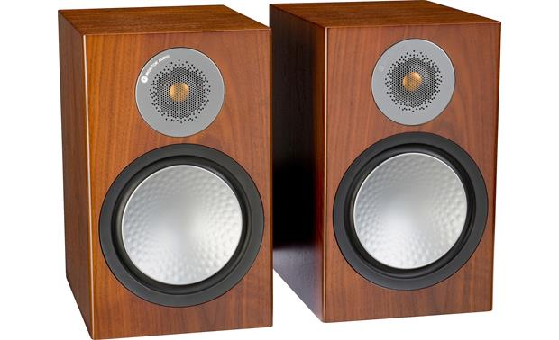 Monitor Audio Silver 100 Shown with grilles removed