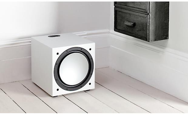 Monitor Audio Silver W-12 Shown in room