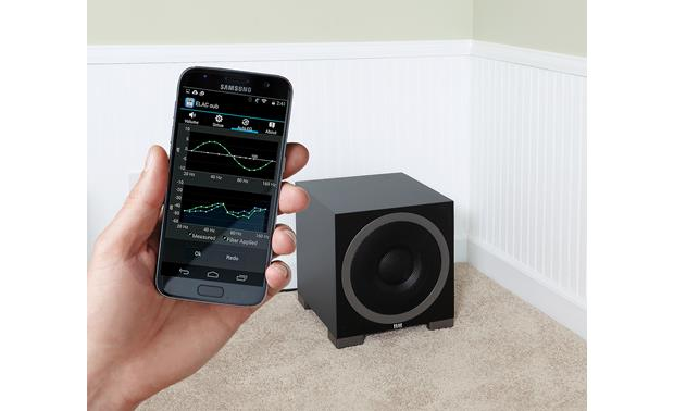 ELAC Debut S10EQ ELAC's Sub Control app works with your Apple or Android smartphone