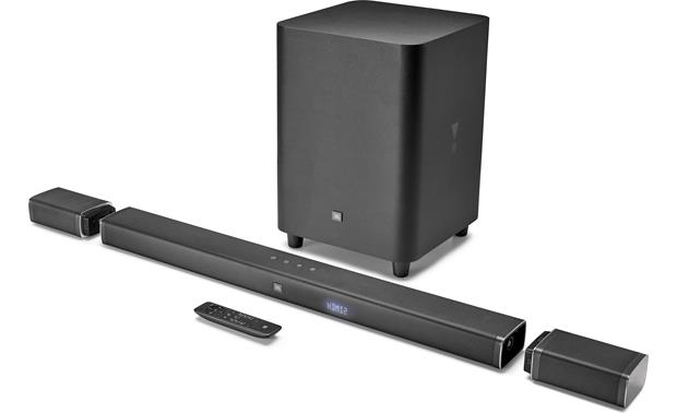 JBL Bar 5.1 Full 5.1 home theater sound bar system with detachable wireless surround speakers