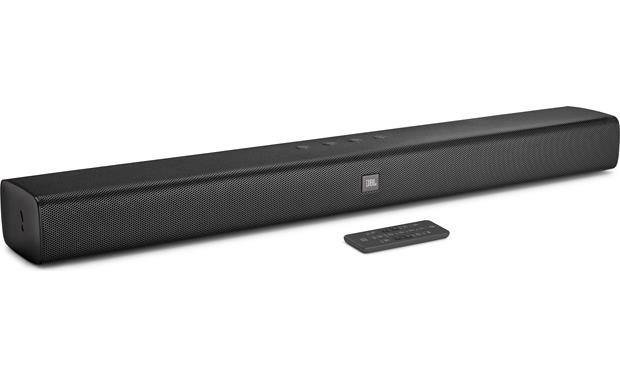 JBL Bar Studio two-channel sound bar with remote